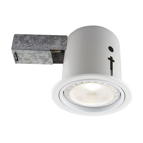 5-inch White Recessed LED Lighting Kit with PAR30 Bulb Included