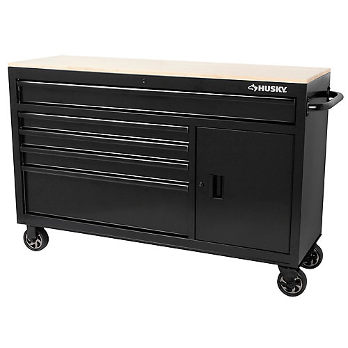 56-inch 5-Drawer Mobile Work Centre