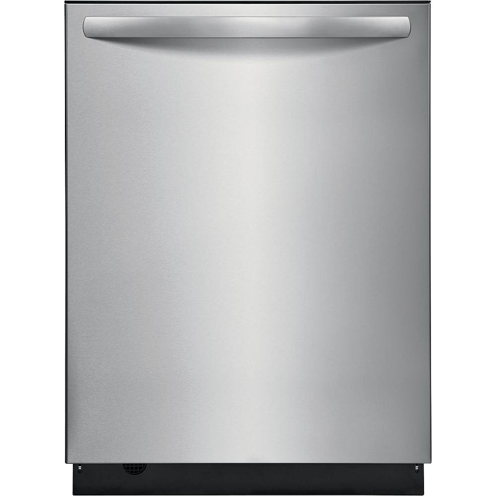Frigidaire 24-inch Top Control Dishwasher in Stainless Steel - ENERGY STAR®