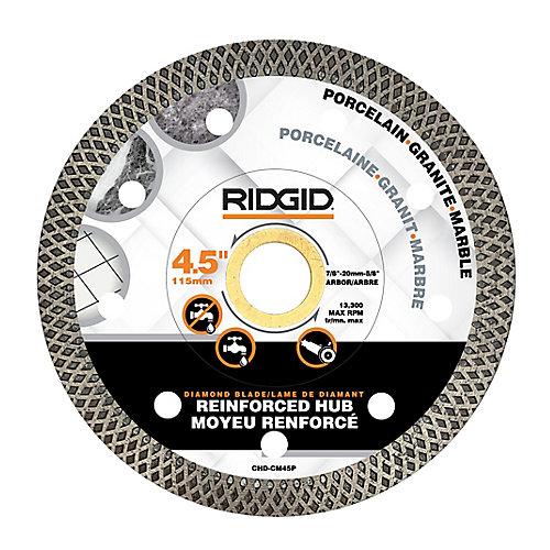 4.5-inch Continuous Rim Diamond Blade with Mesh Rim