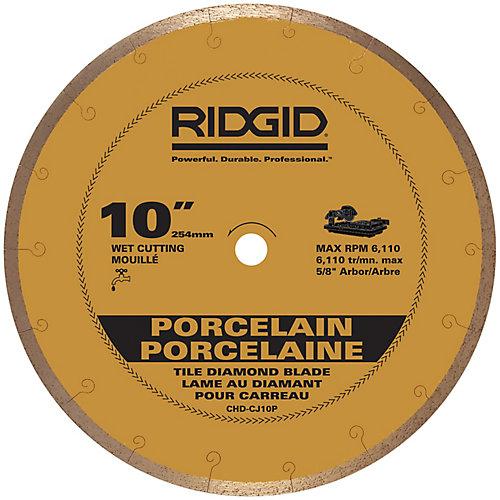 10-inch Continuous Rim Porcelain Diamond Blade