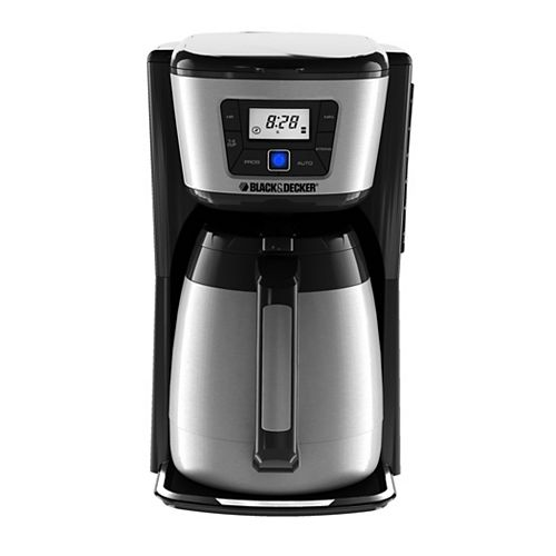 BLACK+DECKER 12 Cup Programmable Thermal Coffee Maker