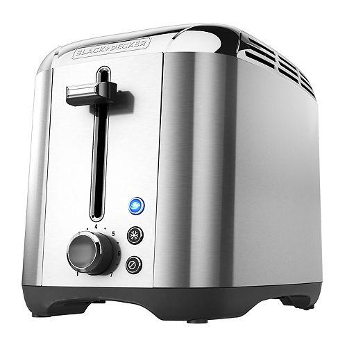 2 Slice Stainless Steel Toaster