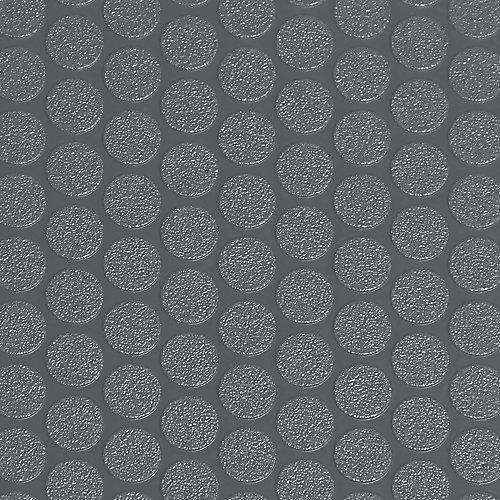 Revêtement protecteur larmé pour garages de qualité commerciale, 8,5 x 24 pi, gris