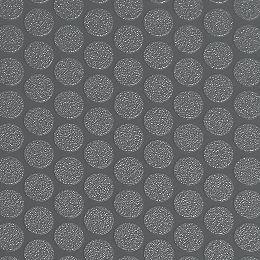 Revêtement protecteur pour sols de garage de qualité commerciale Small Coin, 5 pi x 10 pi, vinyle, gris ardoise