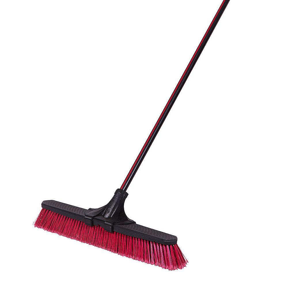 Garant 24-inch Clip'N Lock Multi-Surface Push Broom