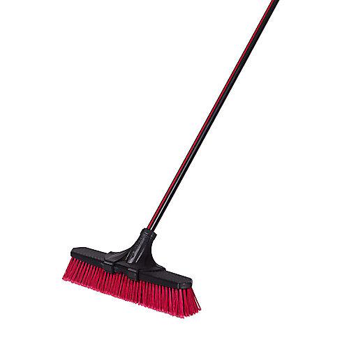 18-inch Clip'N Lock Multi-Surface Push Broom