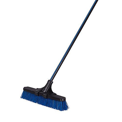 18-inch Clip'N Lock Rough Surface Push Broom
