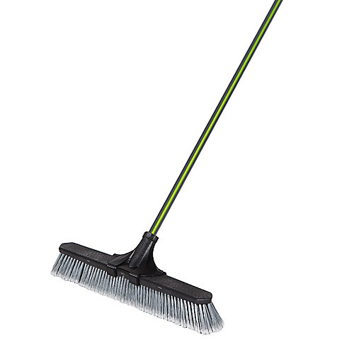 24-inch Clip'N Lock Smooth Surface Push Broom