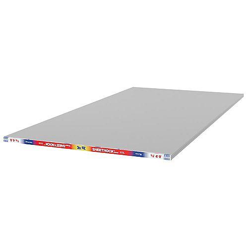 CGC Sheetrock Panneau de cloison sèche de 5/8 po x 4 pi x 8 pi à noyau de code de feu (type X)