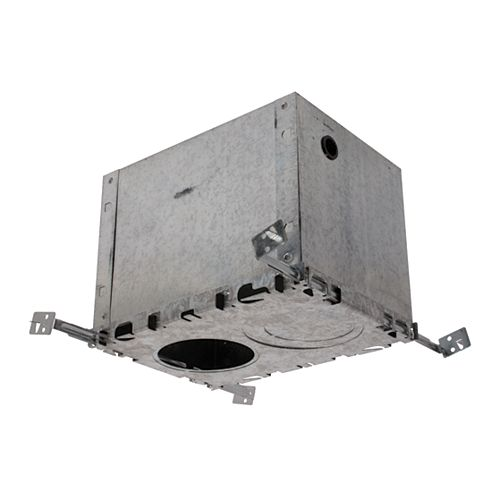 Boîte de plafond isolée