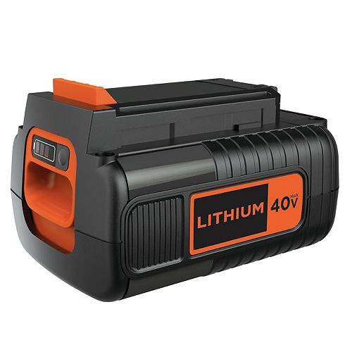 BLACK+DECKER 40V MAX 2.5 Ah Lithium Ion Battery