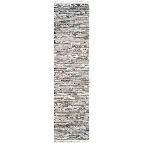 Rag Rug Calanthe Grey 2 ft. 3-inch X 5 ft. Area Rug