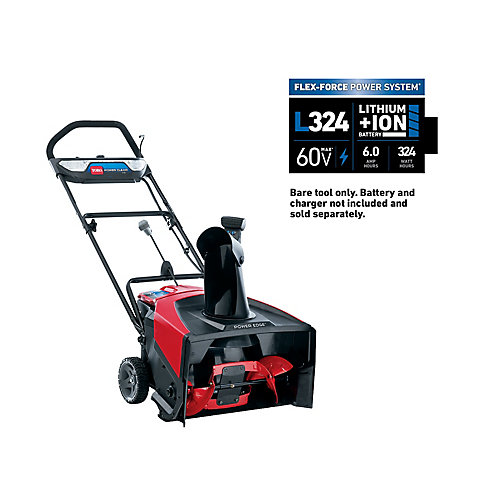 21-inch 60V Cordless Electric e21 Power Clear Snowblower (Bare Tool Only)