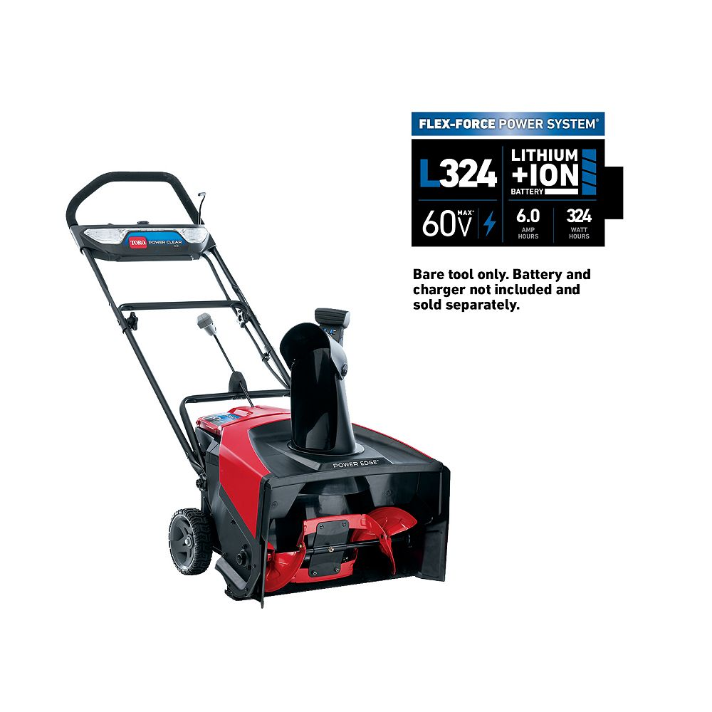 Toro 60V Max 21 inch Power Clear e21 Electric Cordless Snow Blower (Tool Only)