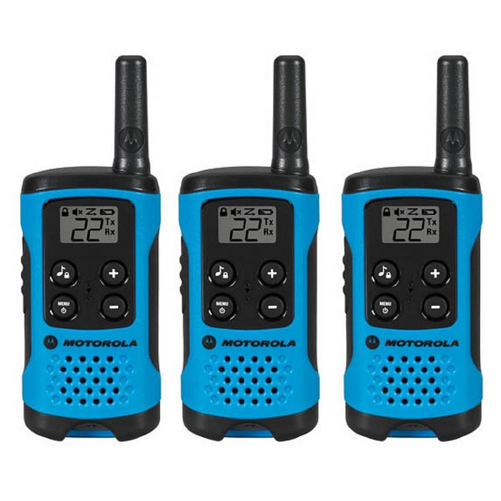 Motorola T100TMC Two-Way Radio, 3 Pack - Entry level Model