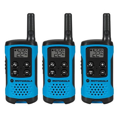 T100TMC Two-Way Radio, 3 Pack - Entry level Model