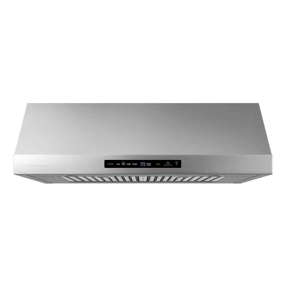 Samsung 30-inch Convertible Under the Cabinet Range Hood in Stainless Steel