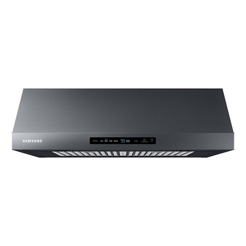 30-inch Convertible Under the Cabinet Range Hood in Black Stainless Steel