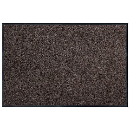 Multy Home Tapis commercial rectangulaire de 4 pi x 6 pi, Toledo brun