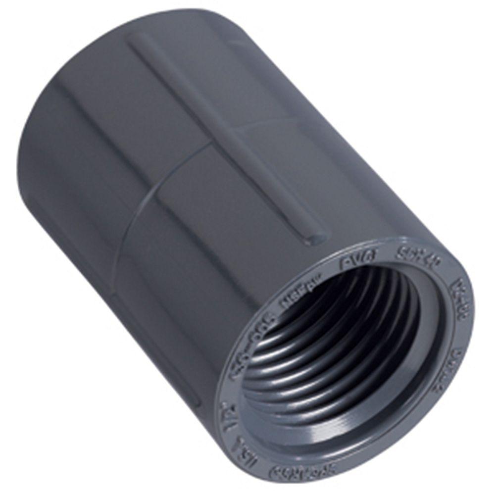 Orbit 1/2 po FNPT PVC Coupling