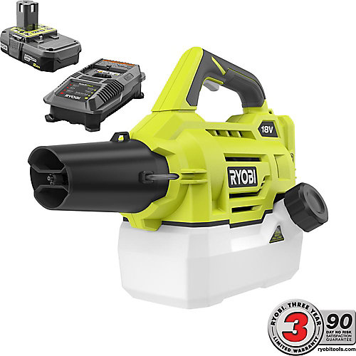 18V ONE+ Lithium-Ion Cordless Fogger with (1) 2.0 Ah Battery and Charger
