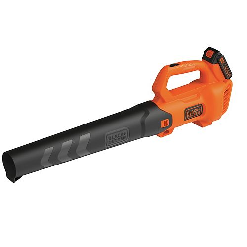 90 MPH 320 CFM 20V MAX Lithium-Ion Handheld Axial Blower with (1) 2.0Ah Battery and Charger Included