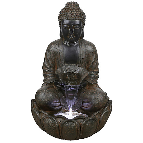 22-inch Buddha Fountain