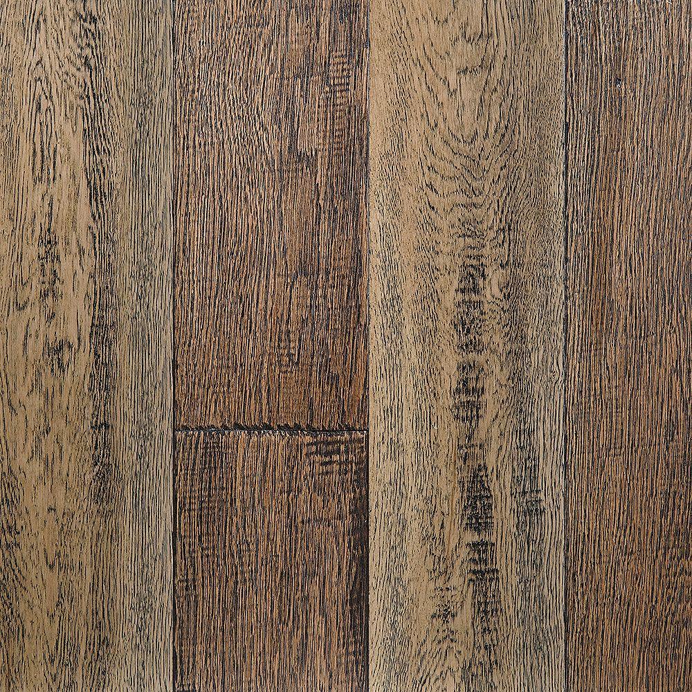 OptiWood Reclaimed Charm 0.28-inch x 5-inch x Varying Length Waterproof Hardwood Flooring (16.68 sq. ft / case)
