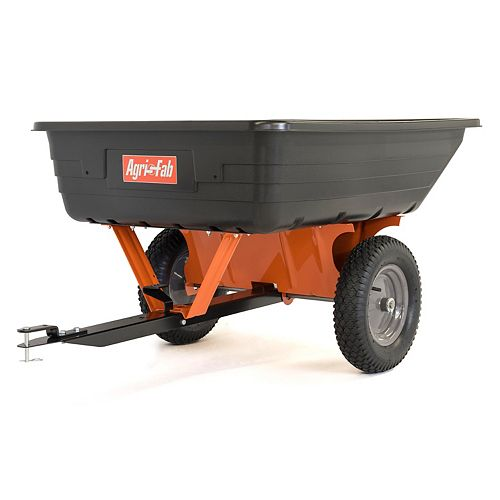 10 cu. ft. 650 lbs. Heaped Capacity Poly Cart