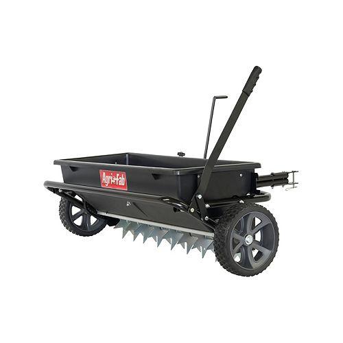 100 lb. 32-inch Spiker Seeder Drop Spreader