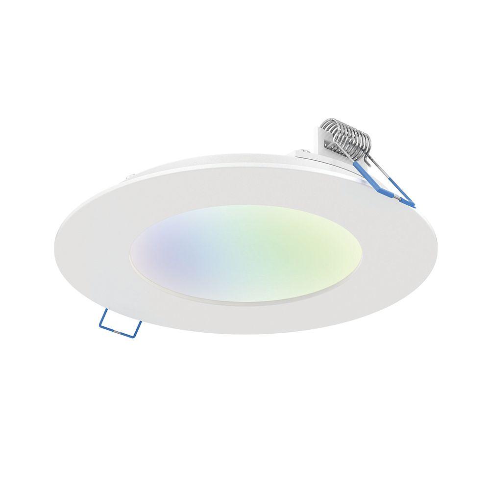 Illume Illume Panneau encastré intelligent de 6 pouces, au DEL , RGB et blanc