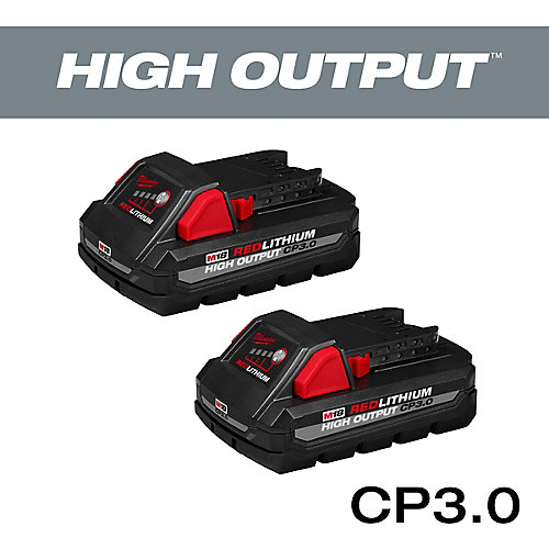 M18 18V Lithium-Ion HIGH OUTPUT CP 3.0Ah Batterie (2-Pack)