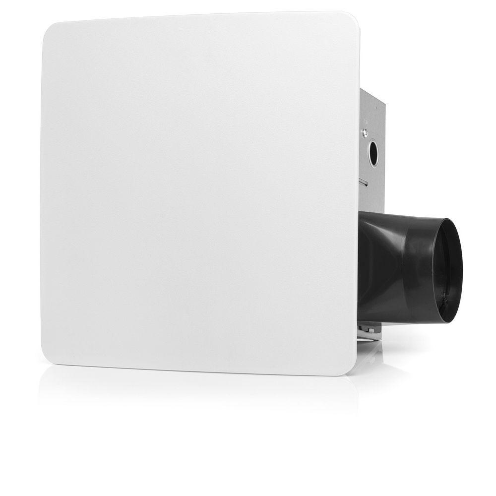 ReVent Ventilateur d'évac. de salle de bains avec capteur d'humidité facile à installer RVSH, 110 pi3/min