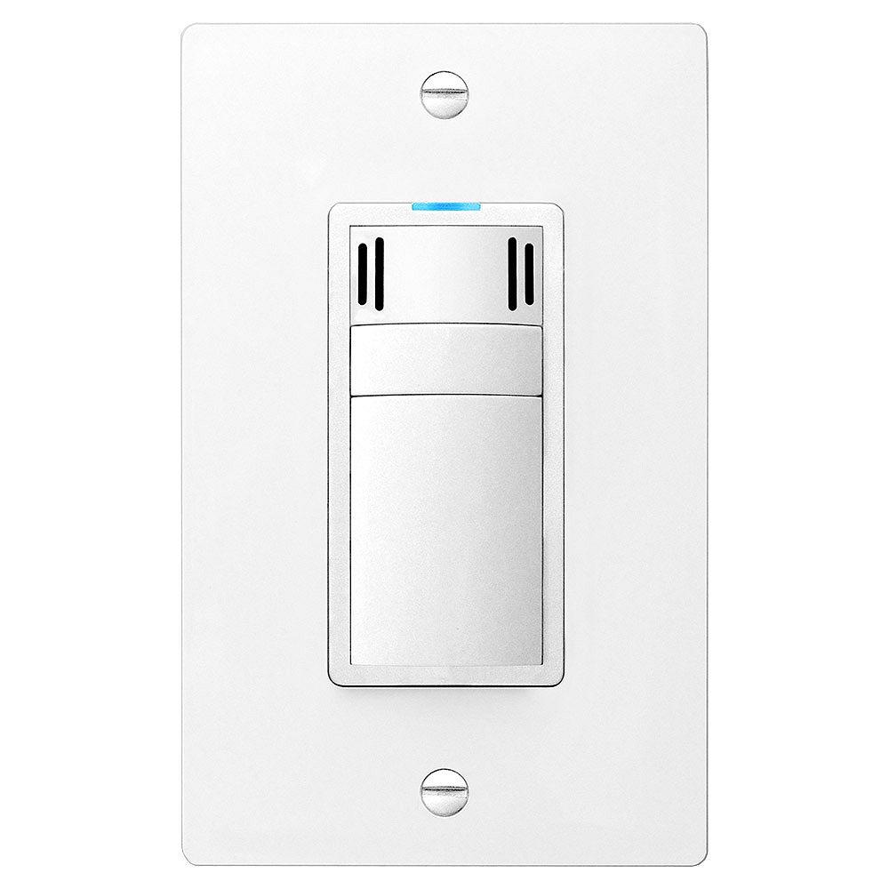 Dewstop Condensation Fan Switch with Countdown Timer in White (120-Volt, 50/60Hz)