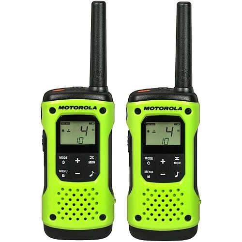 T600 Two-Way Radio, 2 Pack - 56KM Waterproof Model