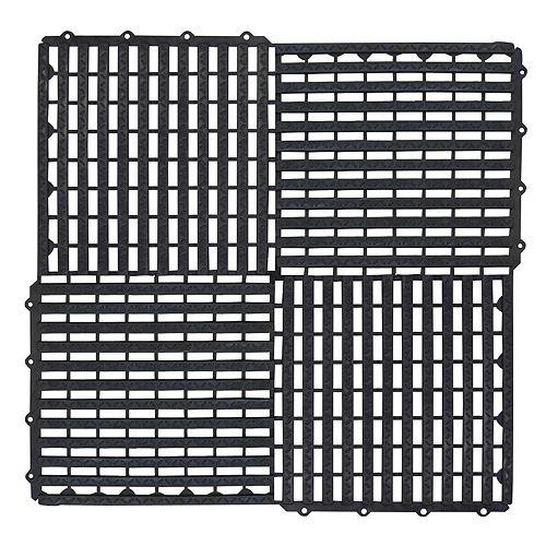 Carreau de sol modulaire de 12 po x 12 po, paquet de 10 carreaux