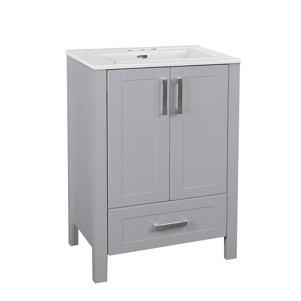Glacier Bay Delchester 24 Inch Vanity, Home Depot Bathroom Vanities 24 Inch