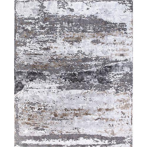 Carpette d'intérieur Lakeside, 5 pi 3 po x 7 pi 3 po, gris