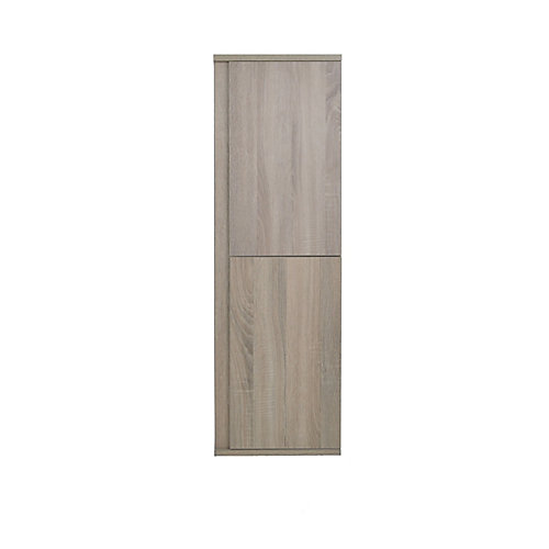 Modo David 14 inch Wall Hung Linen Cabinet in the colour Urban - Right Hinge