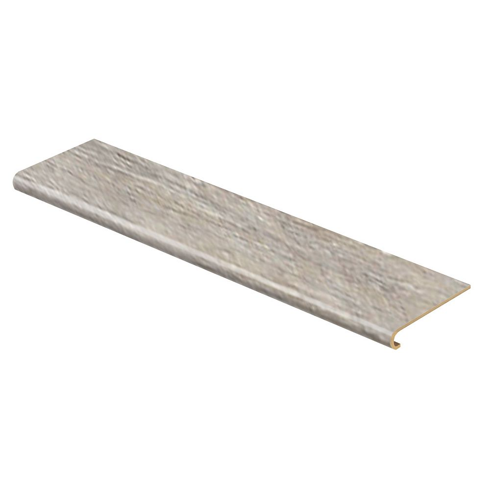Zamma Folkstone Oak 47-inch x 12 1/8-inch x 1 11/16-inch Laminate Stair Tread with Nosing (2-pack)