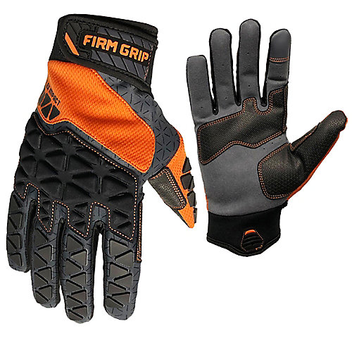 Pro-Fit Flex Impact Work Gloves with Touchscreen Fingertips (Large)