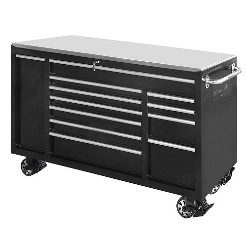 72 inch Cabinet In Black