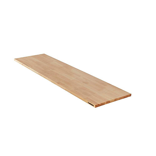 Heavy Duty 7 ft. Wood Work Surface