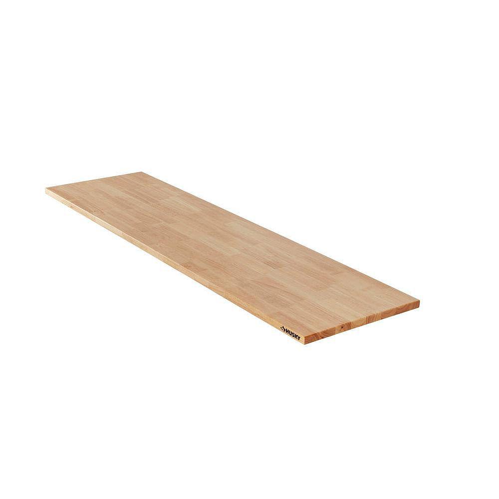 Husky Heavy Duty 84-inch Wood Work Surface