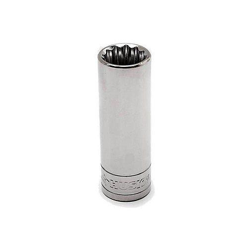 Husky 1/2 inch Drive Deep 1-1/8 inch Socket (12-Point)