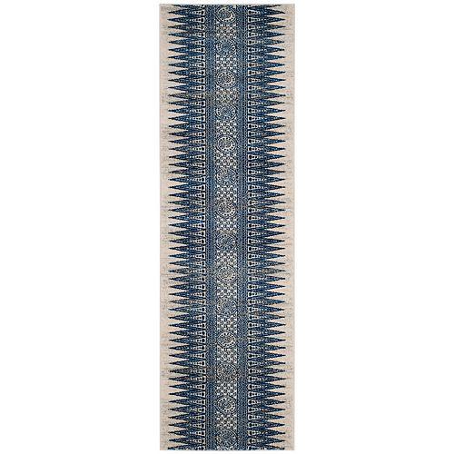 Safavieh Evoke Sabrina Ivory / Blue 2 ft. 2-inch X 9 ft. Runner