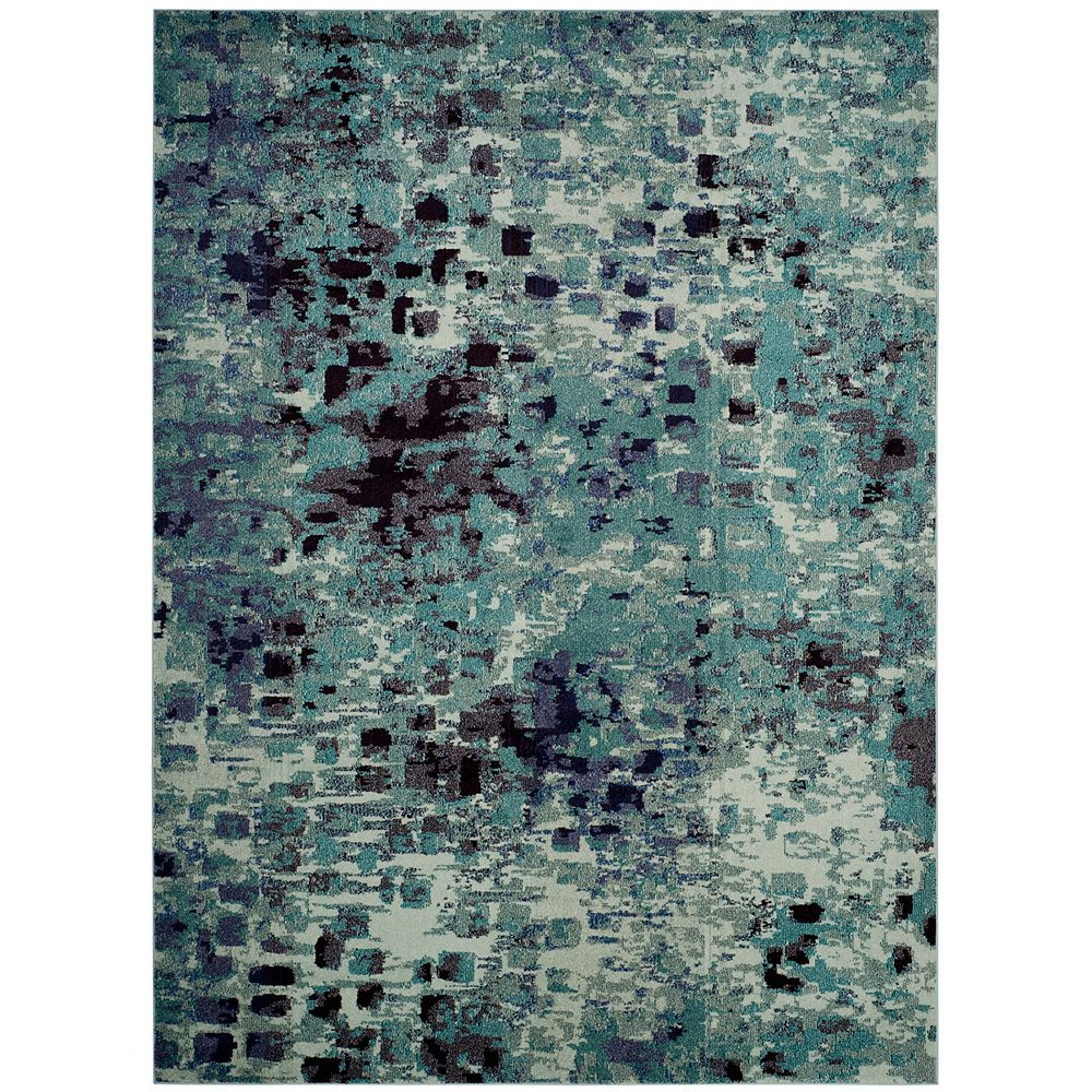 Safavieh Monaco Zoey Light Blue / Multi 8 ft. X 10 ft. Area Rug