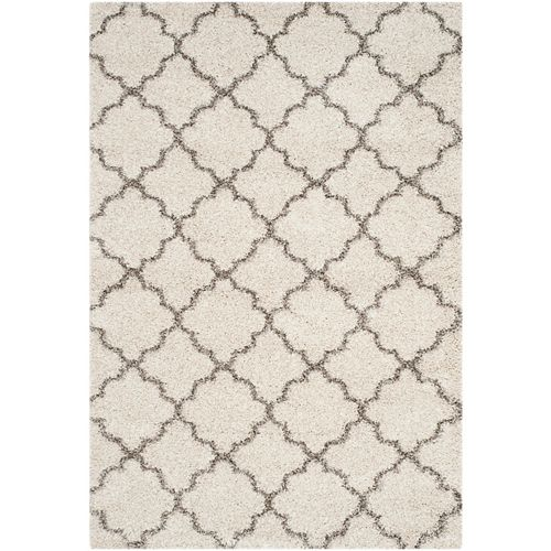Safavieh Hudson Shag Eliot Ivory / Grey 8 ft. X 10 ft. Area Rug