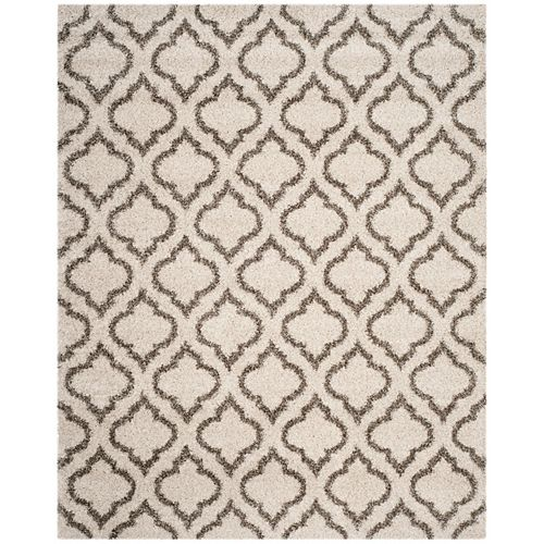 Safavieh Hudson Shag Searlait Ivory / Grey 6 ft. X 9 ft. Area Rug